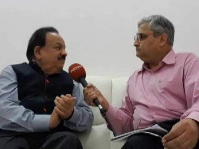 Video : Can't Do A 'Surgical Strike' On Air Pollution, Says Minister Harsh Vardhan