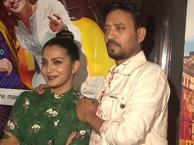 Video : I Am Glad I Made My Bollywood Debut With Irrfan Khan: Parvathy