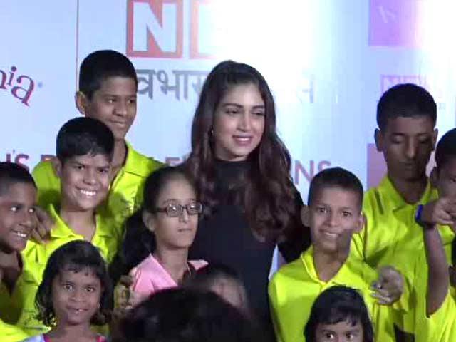 Video : Bhumi Pednekar Celebrates Children's Day