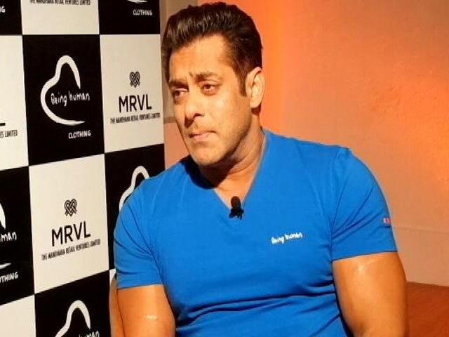 Salman Khan On Charity And Being Human