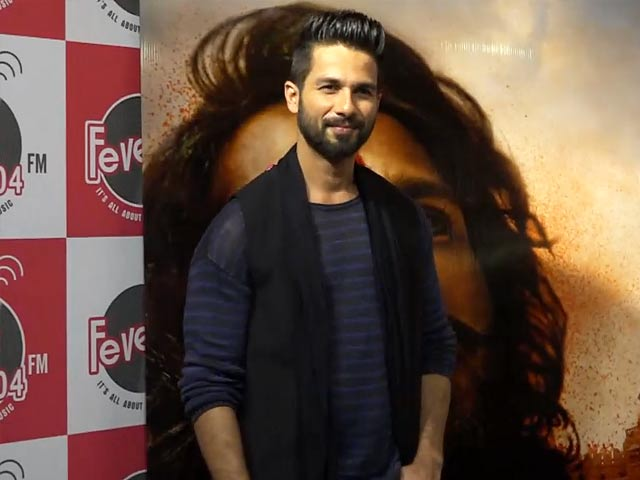 Padmavati Is A Special Film For India: Shahid Kapoor