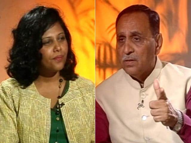 Video : 'Nationalism Biggest Factor For Us': Vijay Rupani On Gujarat Elections