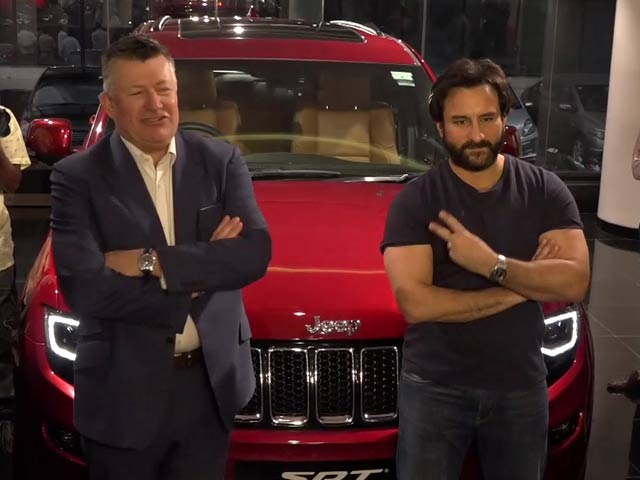 Video : Taimur Will Love The Cherry Red Jeep: Saif Ali Khan