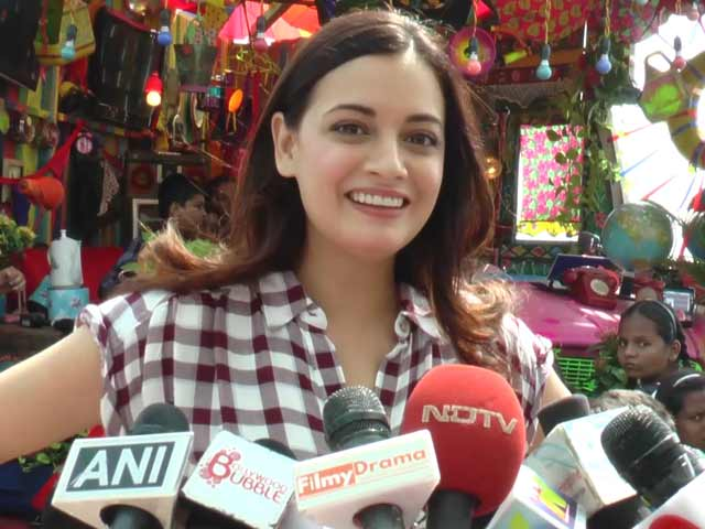 Dia Mirza Celebrates Children's Day With Team Scrappy News