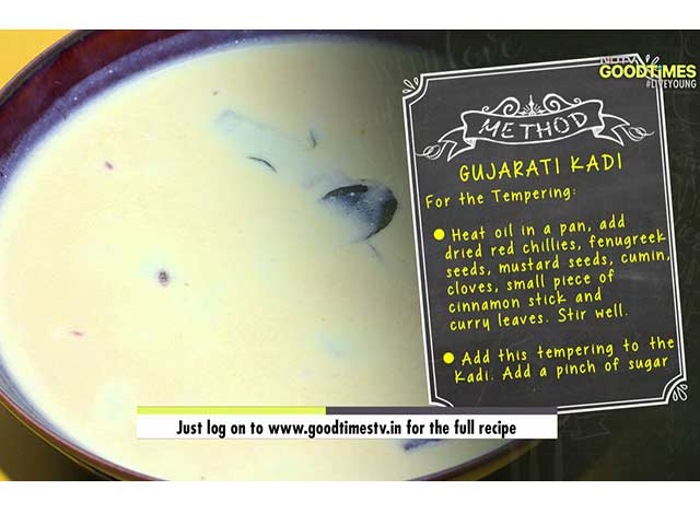 Video : Easy Gujarati Kadhi Recipe On My Yellow Table