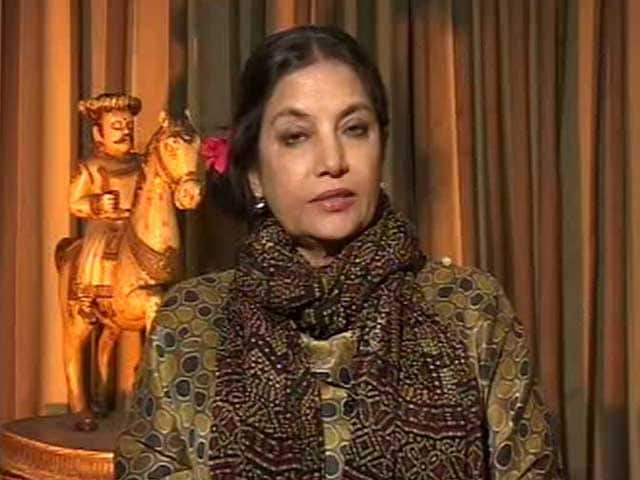 Padmavati Row A Failure Of Government, Political Strategy: Shabana Azmi