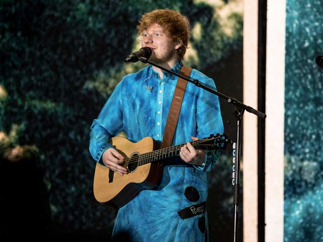 A Glimpse Of Ed Sheeran's Mumbai Concert