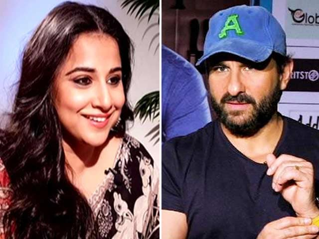 Star Crazy: Rapid Fire With Vidya Balan And Saif Ali Khan