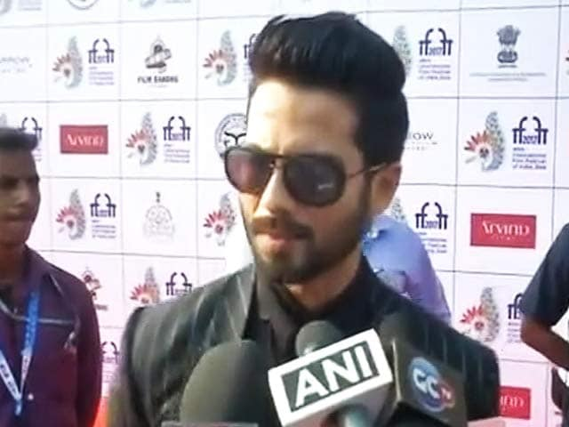 "Video : Optimistic About ""<i>Padmavati</i>"": Shahid Kapoor"