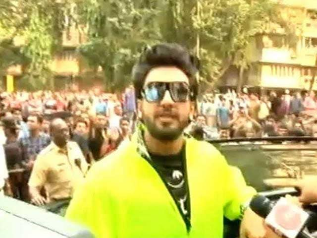 Video : '200 Per Cent With <i>Padmavati</i>': Ranveer Singh Speaks Out On Controversies