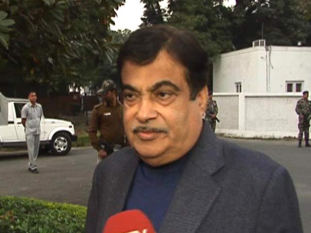 Video : Nitin Gadkari Promises Transformation To Clean Vehicles In 5 Years