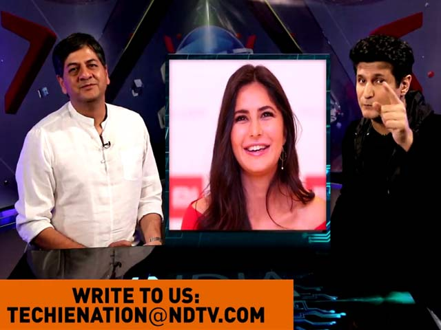 Video : India Techie Nation: Game Of Phones And How Katrina Got Grilled On The Show!