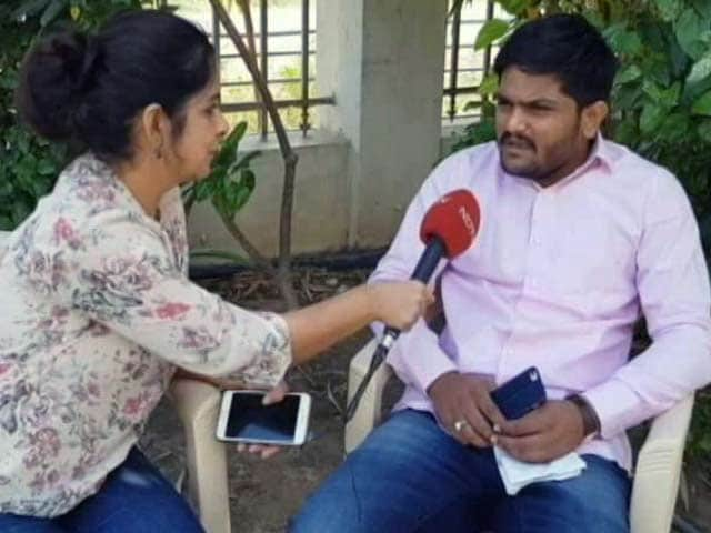 Video : Can't Meet Rahul Gandhi, Can Only Send Best Wishes To Him: Hardik Patel