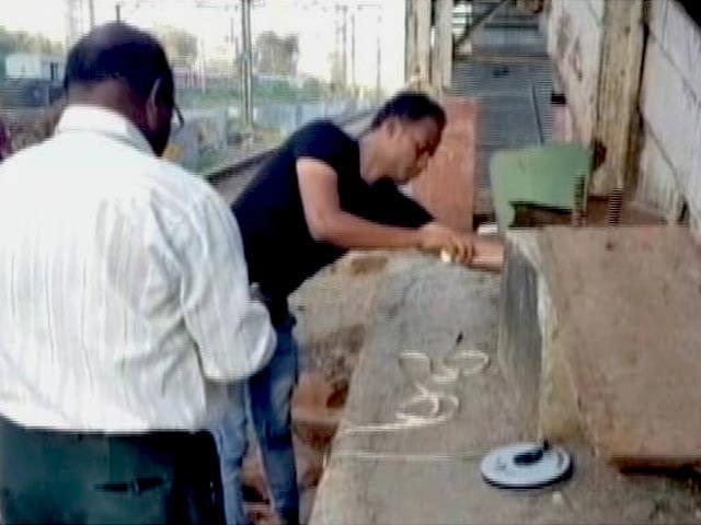 Video : मुंबई के एलफिंस्टन पुल निर्माण में जुटी सेना