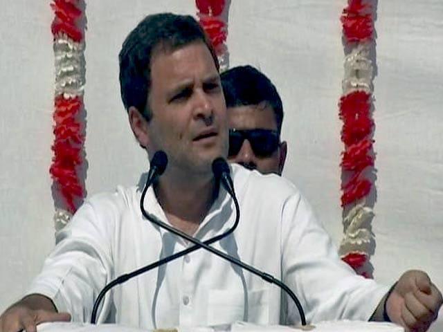 Videos : गुजरात के दो बेटों ने भगाए थे अंग्रेज: राहुल गांधी