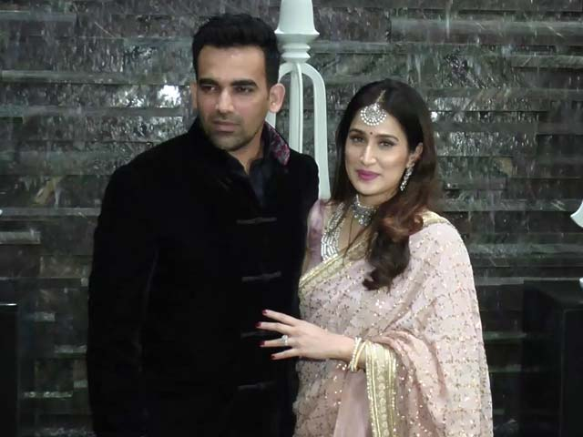 Zaheer Khan Marries B-Town Actress Sagarika Ghatge