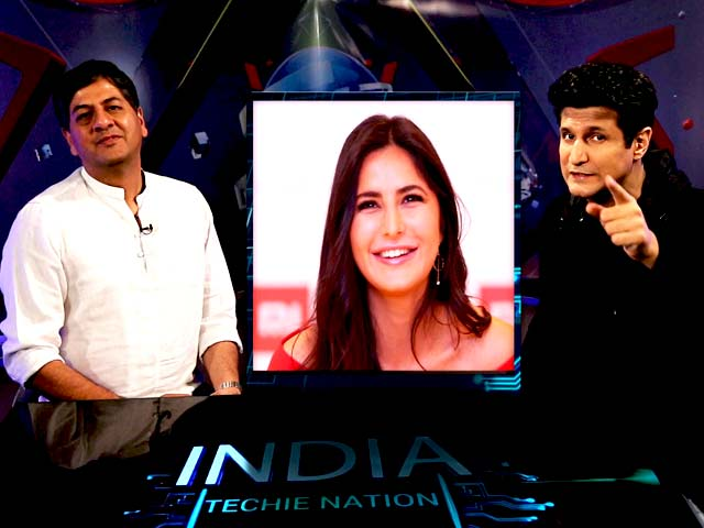 Video : India Techie Nation: Game of Phones And How Katrina Kaif Got Grilled On The Show