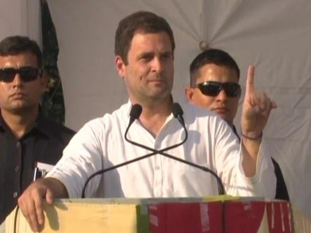 Video : सिर्फ़ कुछ लोगों के लिए है बीजेपी की सरकार : राहुल गांधी