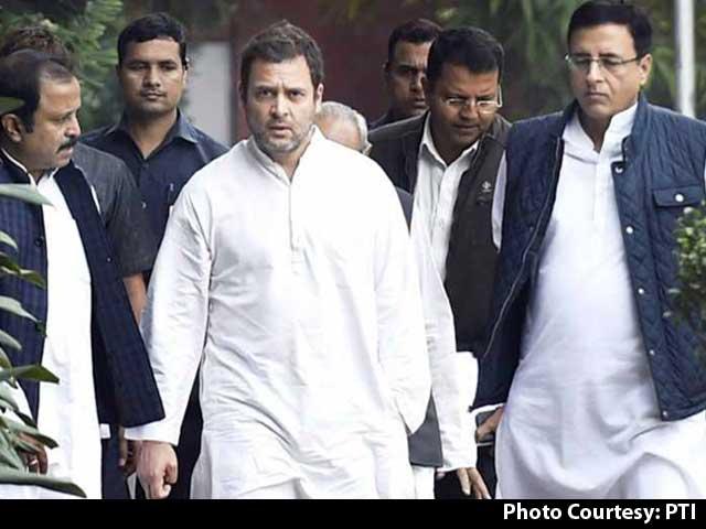 "Video : ""Hugplomacy Fail"": Rahul Gandhi Unloads New Twitter Burn Over US Move"
