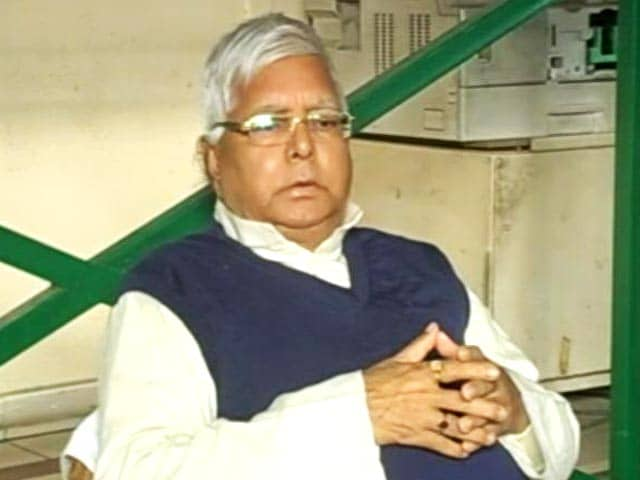 Video : Lalu Yadav's Jail Sentence In Fodder Scam To Be Shared Tomorrow