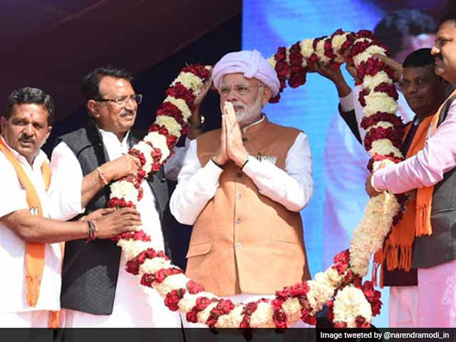 Video : 'Yes, I Sold Tea, But Didn't Sell Nation': PM Attacks Congress In Gujarat