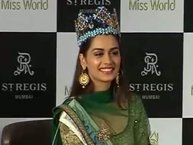 Video : Education Can Transform People's Thinking: Miss World Manushi Chhillar