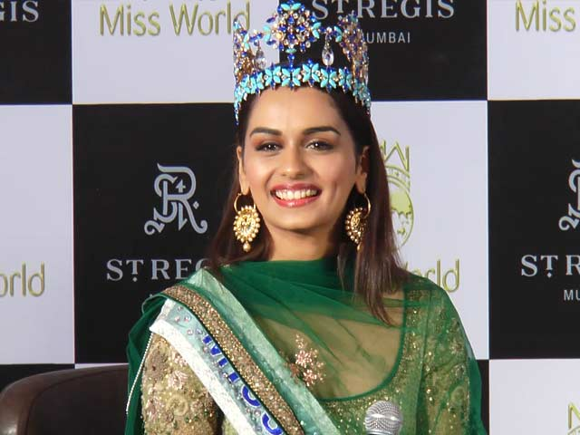 Video : Bollywood Is Not On My Mind: Miss World Manushi Chhillar