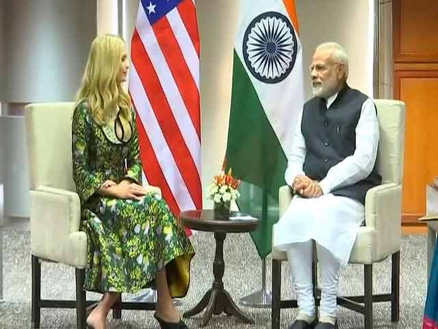Video : Ivanka Trump, PM Modi Meet Ahead Of Global Business Meet In Hyderabad
