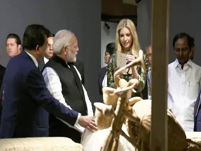 Video : PM Modi, Ivanka Trump At Global Meet In Hyderabad