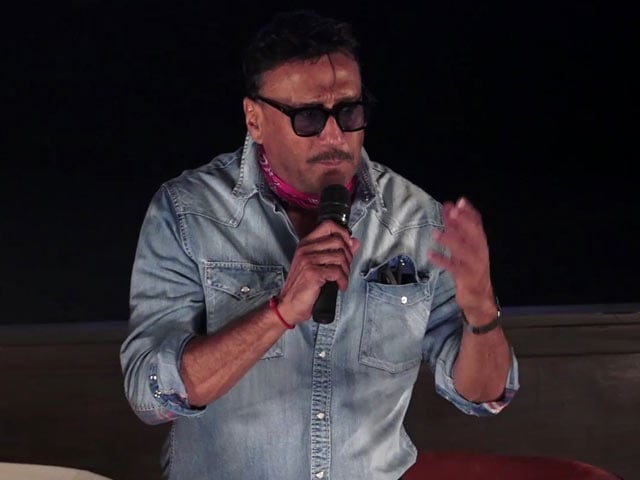 Jackie Shroff At The Screening Of Subhash Ghai's Hero
