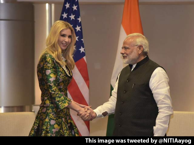 Video : India Has A True Friend In The White House, Ivanka Trump Tells PM Modi