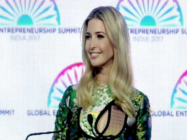 Video : हैदराबाद में वैश्विक उद्यमिता सम्मेलन में शामिल हुईं इवांका ट्रंप