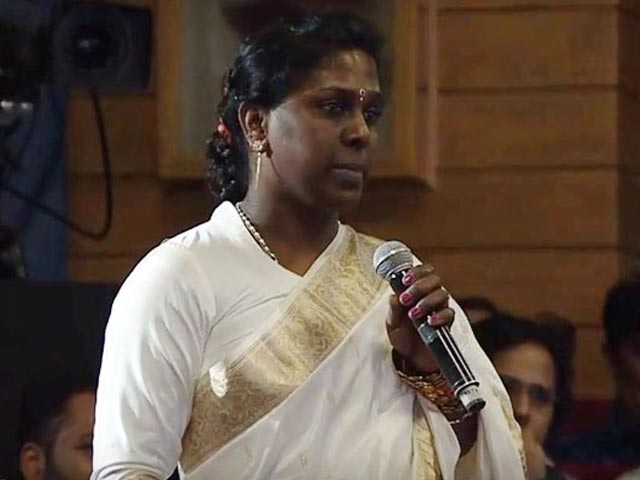 "Video : ""I'm A Criminal,"" Said Indian Transgender Activist. Barack Obama's Response"