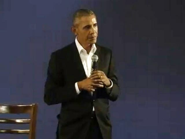 Video : Barack Obama's Mission In India With The Delhi Town Hall