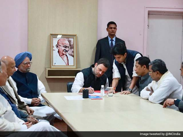 Video : Rahul Gandhi Unchallenged, Set To Be New Congress President
