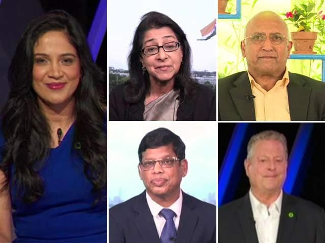 Video : The India Hour: Al Gore And NDTV Partner On Climate Change