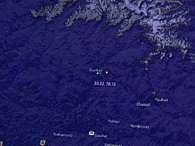Video : Watch: Uttarakhand Earthquake Struck At A Depth Of 30 km
