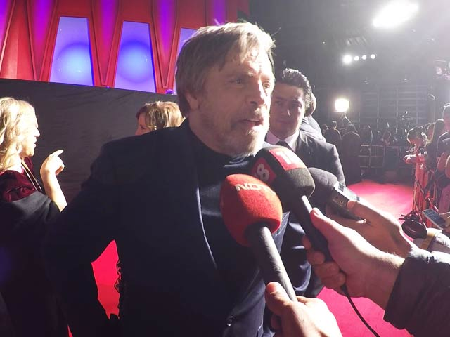 Star Wars Premiere: 'Younger Actors Are More Prepared Than I Was' - Mark Hamill
