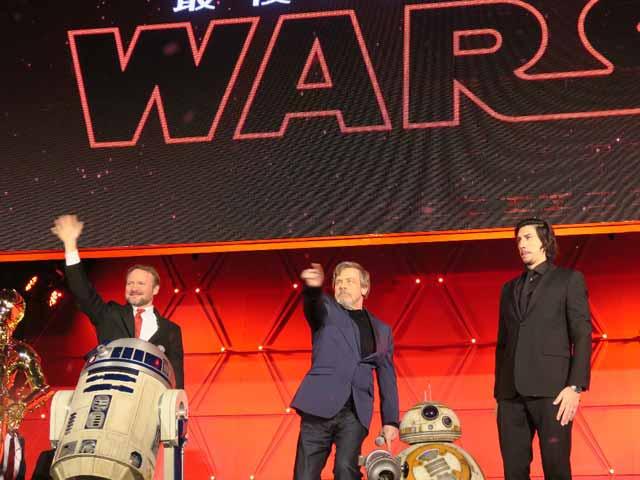 Video : Tokyo Premiere Of <i>Star Wars: The Last Jedi</i>