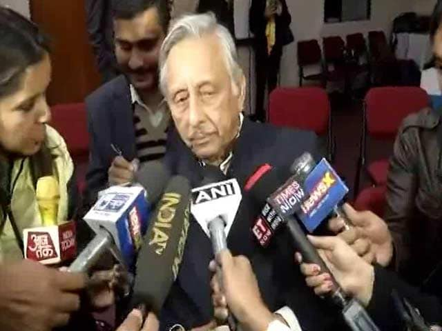 Video : Meant 'Low', Not 'Low Born', When I Said <i>Neech</i>: Mani Shankar Aiyar