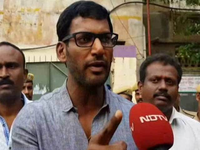 "Video : RK Nagar By-Poll: ""Threat To Life"", Says Relative Of Actor Vishal's Missing Proposer"
