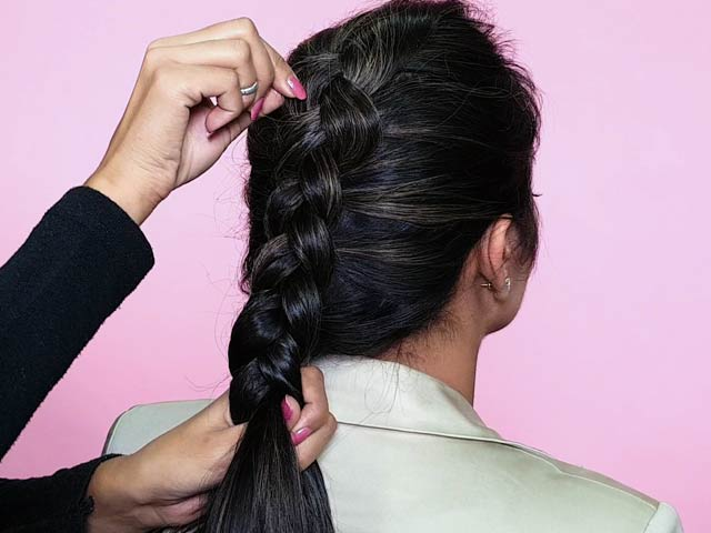Video : Beauty Hacks: Weave The Dutch Braid Like A Pro. It's So Chic.