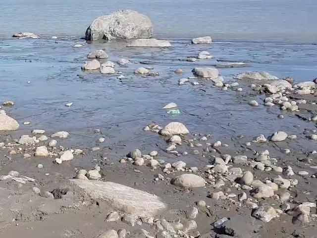 Video : A River In Arunachal Pradesh Has Turned Black And No One Knows Why