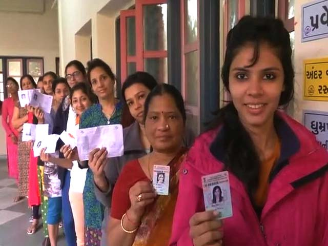 Video : 68% Voter Turnout In Phase 1 Of Gujarat Polls, Lower Than 2012
