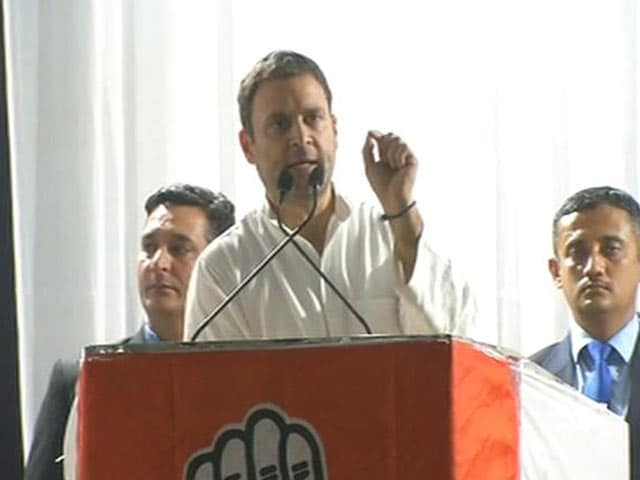 "Video : Won't Utter ""Wrong Words"" Against PM Modi, Says Rahul Gandhi"