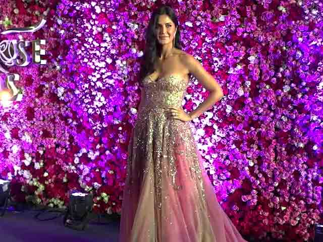 Katrina Kaif Looks Stunning At Golden Rose Awards