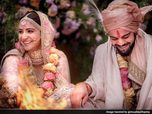 Video : Virat Kohli, Anuskha Sharma Get Married In Italy