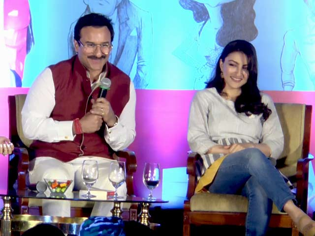 Video : Saif Ali Khan Shares A Hilarious Incident Of Sister Soha's Date