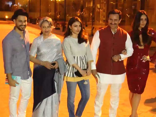 Watch: Sharmila, Saif, Kareena & Kunal At Soha Ali Khan's Book Launch
