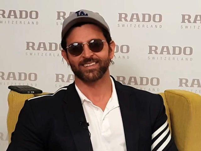 Video : I Am Inspired By All Actors: Hrithik Roshan